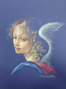 レオナルド・ダ・ヴィンチの天使の模写